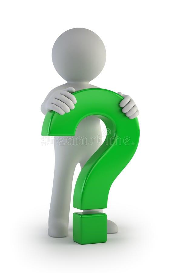 D petites personnes point d interrogation vert masculin 35704750
