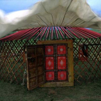 Mongolia yurt ger construction 301