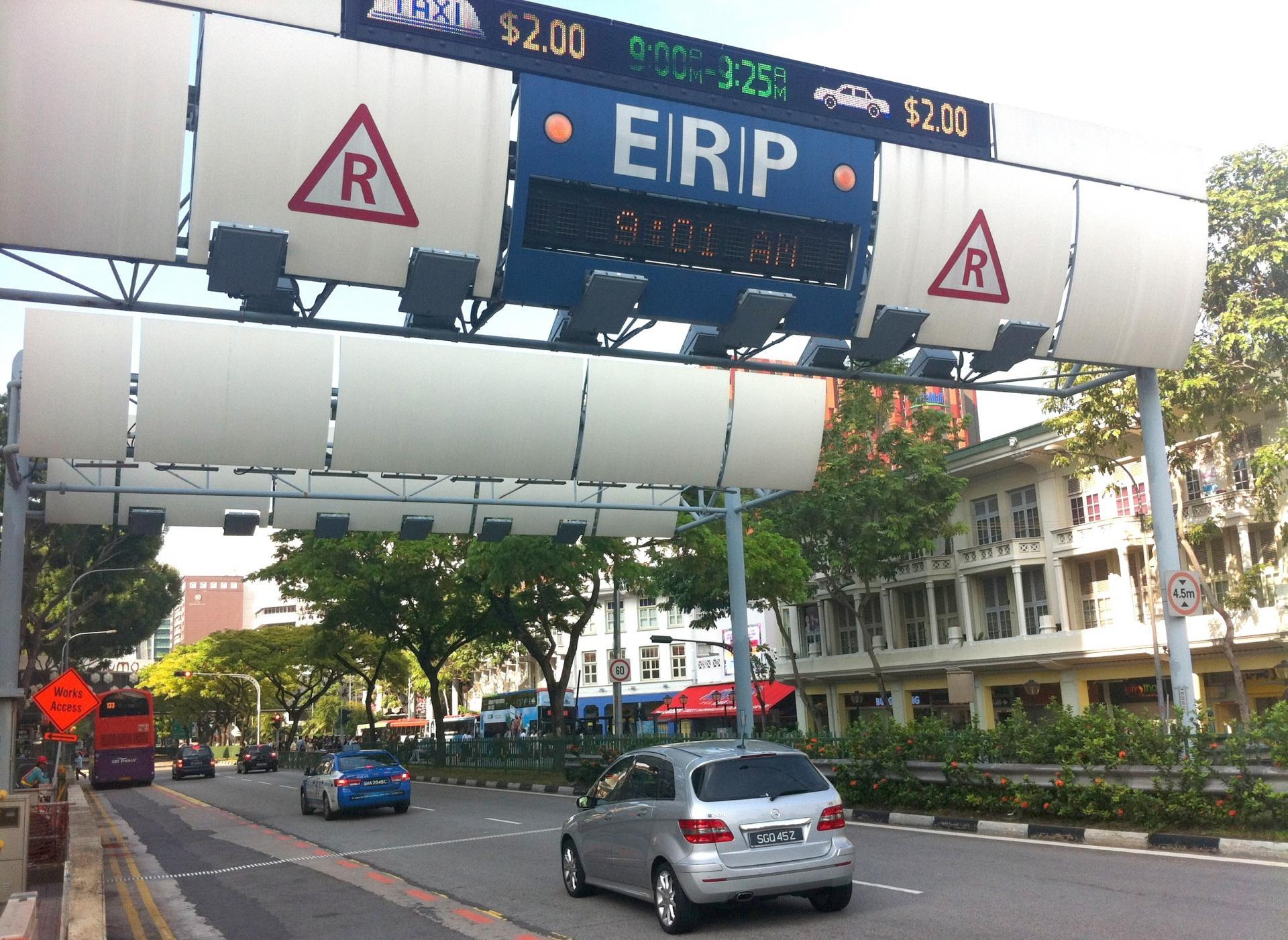Peage singapour